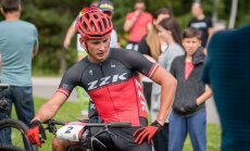 Pētersons sasniedz 23. vietu pasaules čempionātā kalnu riteņbraukšanā