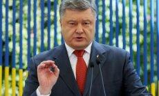 Порошенко заявил, что через месяц Украина получит безвизовый режим с ЕС