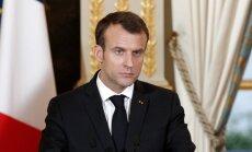 Makrons: NATO dalībvalstis nav mainījušas solījumus par aizsardzības izdevumiem