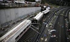 Spānijā avarējušā vilciena mašīnists sociālajos tīklos lielījies ar ātruma pārsniegšanu