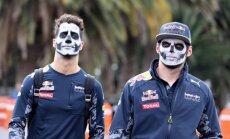 Foto: 'Red Bull' F-1 komanda Meksikā atzīmē Mirušo dienu