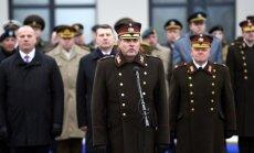 Foto: Jaunais NBS komandieris Kalniņš sola nodrošināt nesalaužamo armijas garu
