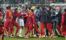 Krievija vēlas tehnisko uzvaru skandalozajā EČ kvalifikācijas turnīra mačā pret Melnkalni