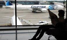 Sākotnējās analīzes liecinot par sprādzienu 'EgyptAir' lidmašīnā