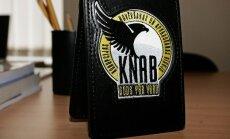 Korupcijas novēršanas un apkarošanas birojā atvērto durvju dienā notiek KNAB darbinieka ekipējuma demonstrējumi, tikšanās ar KNAB izmeklētājiem un informācija par ikdienas darbu.