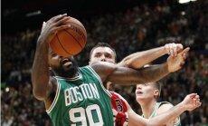 Latiševa tiesātajā spēlē 'Celtics' uzvar 'Olimpia Milano'