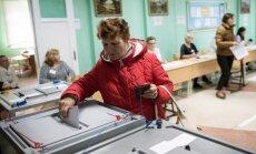 Foto: Krievijā notiek reģionālās un vietējās vēlēšanas