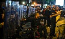 Protesti Maķedonijā: 5. jūnijā notiks parlamenta pirmstermiņa vēlēšanas