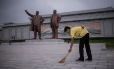 Medijs: Krievija turpina uzņemt tūkstošiem Ziemeļkorejas strādnieku