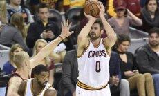 'Cavaliers' līderis Lavs nespēlēs sešas nedēļas; atbrīvojas vieta NBA Zvaigžņu spēlē