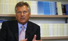 Экс-президент Польши: Путина интересует не Прибалтика, а Украина целиком