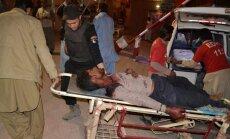 Policijas akadēmiju ar 500 kadetiem Pakistānā ieņem teroristi