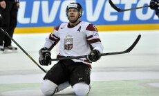 Latvijas hokejisti pārtrauc 'sauso' sēriju, taču turpina zaudēt