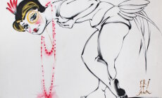 """Выставка в Риге: """"Замерзший пруд"""" глазами художницы и ювелира"""
