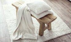 Vilnas, smalku izšuvumu un kažokādas paklāji – kā tos kopt ikdienā
