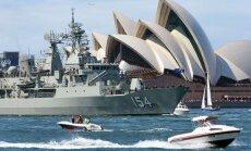 Fotoreportāža: 17 valstu karakuģi sabrauc Sidnejā