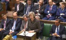 Lielbritānijas iekšlietu ministre paziņo par kandidēšanu uz premjera amatu
