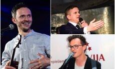 'Laiks Ziedonim' ceremoniju vadīs Kaupers, Goran Gora un Skutelis