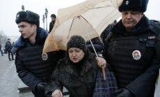 На антивоенных акциях в Москве задержано 330 человек