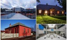 Latvijas Arhitektūras gada balva 2017. Nobalso par savu favorītu!
