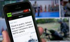 Krievijas valsts medijs apraksta NATO spēku uzvedību Ventspilī: 'Viņi tur uzvedas kā okupanti'