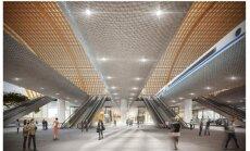 Foto: Publisko idejas Dzelzceļa tilta un Centrālās stacijas pārbūvei
