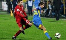 'Rostov' futbolisti nonāk uzvaras attālumā no Cauņas pārstāvētās CSKA