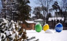 На Пасху в некоторых регионах Латвии возможен снег