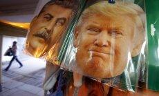 Senatori grib aizliegt Trampam atcelt sankcijas pret Krieviju