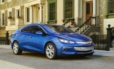 Jaunais 'Chevrolet Volt' ar elektrību nobrauks vēl tālāk