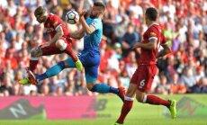 'Liverpool' Anglijas premjerlīgas spēlē sagrauj 'Arsenal'
