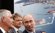ASV naftas milzis 'ExxonMobil' iesūdz tiesā Krieviju