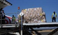 Jemenā ieradušās pirmās palīdzības lidmašīnas kopš blokādes noteikšanas