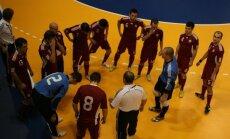 Latvijas telpu futbola izlase iekļūst EČ kvalifikācijas sacensību pamatturnīrā
