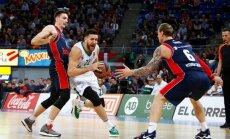 Timmas un Mālmaņa pārstāvētā 'Baskonia' svarīgā Eirolīgas mačā uzvar 'Žalgiri'