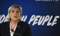 Francijas prezidenta amata kandidāte: Krima ir leģitīma Krievijas daļa