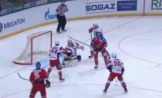 Sprukta un Rēdliha 'Lokomotiv' negūst vārtus Gagarina kausa pusfināla pirmajā spēlē