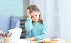 Bērniem nekad galva nesāp bez iemesla, brīdina neiroloģe