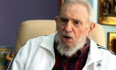 Arī Fidels Kastro devis akceptu Kubas sadarbības atjaunošanai ar ASV
