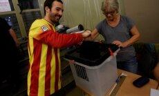 Katalonijas referendums: Darbojas 73% iecirkņu