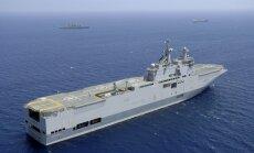 Francijas ministrs aizstāv karakuģu 'Mistral' pārdošanu Krievijai