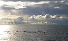 Ūdens Baltijas jūrā atkāpies līdz vienai no zemākajām atzīmēm pēdējo gadu laikā
