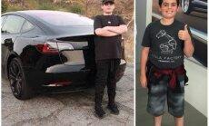 Video: 14 gadīgs pusaudzis – visjaunākais 'Tesla Model 3' īpašnieks