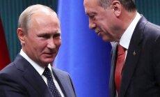 Kurdu jautājums apdraud Krievijas un Turcijas sadarbību