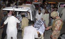Sprādzienā Pakistānā nogalināti vismaz 128 cilvēki