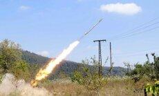 No Krievijas puses naktī apšaudītas Ukrainas armijas vienības