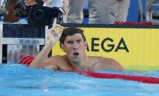 ASV olimpiskās izlases karognesējs būs leģendārais Maikls Felpss