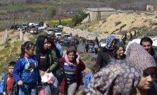 Россия и Франция впервые отправили в Сирию совместную гумпомощь