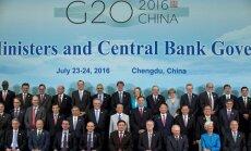 'Brexit' vairo riskus pasaules ekonomikai, brīdina G20