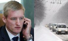 Sprūdžs aptur Rīgas 'puteņa brīvbiļešu' noteikumus; dome vērsīsies ST